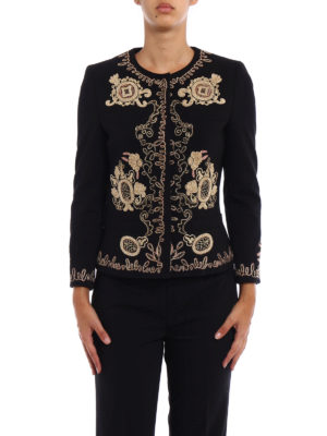 Dondup: Tailored & Dinner online - Anastasya embroidered jacket