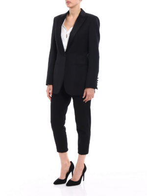 Dondup: Tailored & Dinner online - Spookie black tuxedo blazer