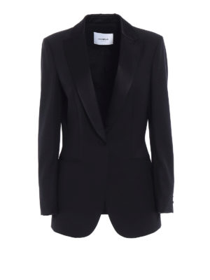 Dondup: Tailored & Dinner - Spookie black tuxedo blazer