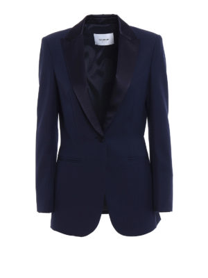 Dondup: Tailored & Dinner - Spookie blue tuxedo blazer