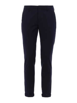 Dondup: Tailored & Formal trousers - Gaubert wool blend trousers