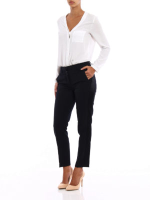 Dondup: Tailored & Formal trousers online - Hives wool cigarette trousers