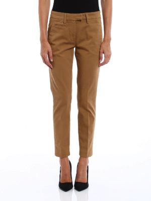 Dondup: Tailored & Formal trousers online - Perfect cotton trousers