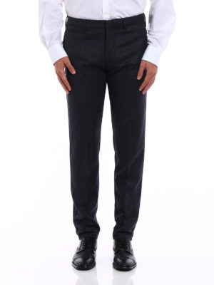 Dondup: Tailored & Formal trousers online - Raff wool trousers