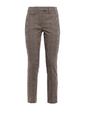 Dondup: Tailored & Formal trousers - Perfect Prince of Wales trousers