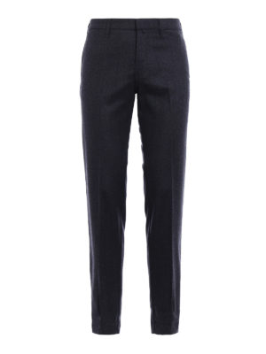 Dondup: Tailored & Formal trousers - Raff wool trousers
