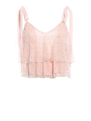 Dondup: Tops & Tank tops - Lace short top
