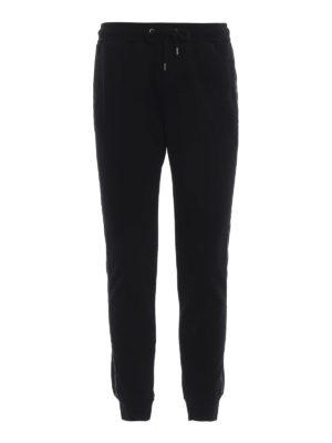 DONDUP: pantaloni sport - Pantaloni della tuta con bande in nylon