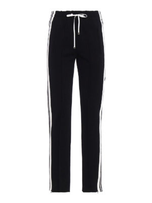 Dondup: tracksuit bottoms - Nadire high waisted trousers