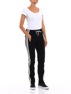 Dondup: tracksuit bottoms online - Nadire high waisted trousers