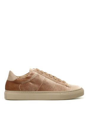 Dondup: trainers - Romantic velvet sneakers