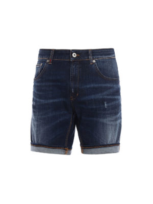 Dondup: Trousers Shorts - Derick denim shorts