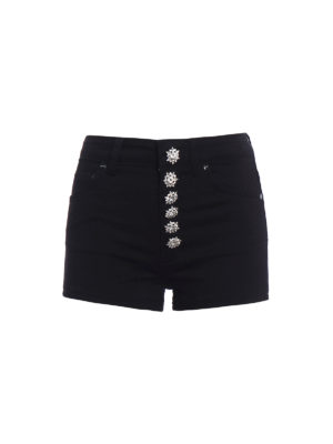 Dondup: Trousers Shorts - Klum stretch cotton shorts