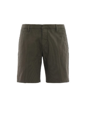 Dondup: Trousers Shorts - Manheim cotton shorts