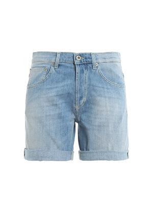 DONDUP: Trousers Shorts - New Holly Bermuda shorts