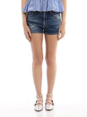 Dondup: Trousers Shorts online - Chesney denim short pants