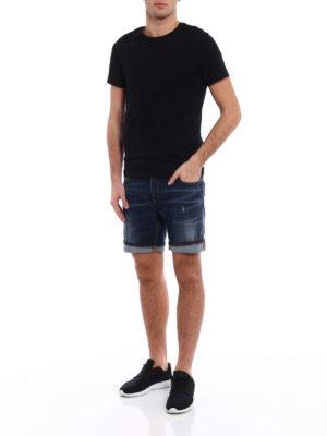 Dondup: Trousers Shorts online - Derick denim shorts