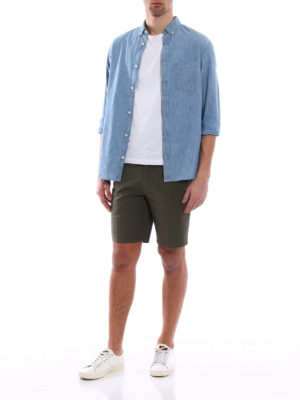 Dondup: Trousers Shorts online - Manheim cotton shorts