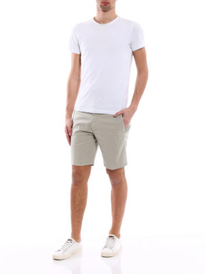 Dondup: Trousers Shorts online - Manheim polka dot shorts