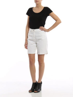 Dondup: Trousers Shorts online - Newholly denim shorts