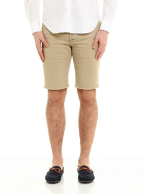 Dondup: Trousers Shorts online - Vintage look Rolly shorts