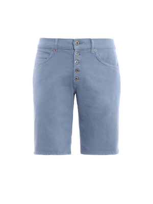 Dondup: Trousers Shorts - Rolly cotton shorts