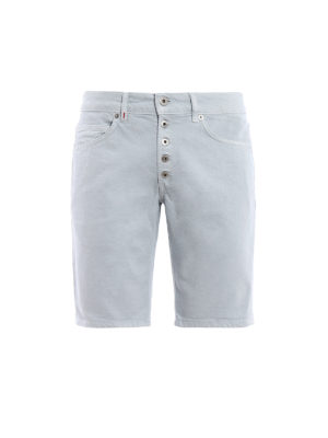 Dondup: Trousers Shorts - Rolly denim shorts