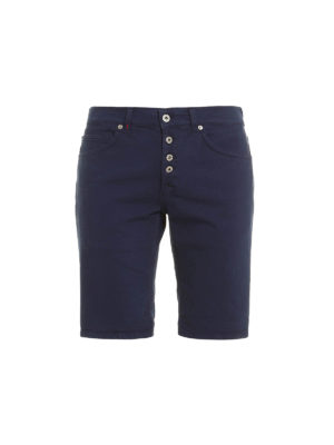 Dondup: Trousers Shorts - Vintage look Rolly shorts