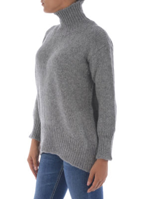 Dondup: Turtlenecks & Polo necks online - Drop shoulder alpaca turtleneck