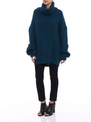 Dondup: Turtlenecks & Polo necks online - Iconic oversize wool turtleneck