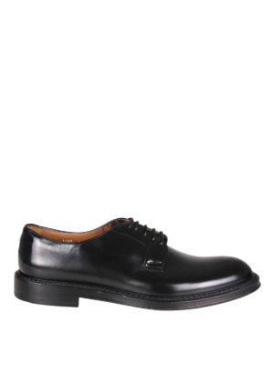Doucal's: classic shoes - Brushed leather lace-ups