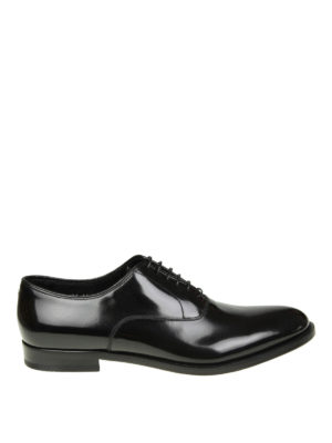 Doucal's: classic shoes - Brushed leather Oxford shoes