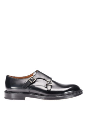 Doucal's: classic shoes - Leather classic monk straps