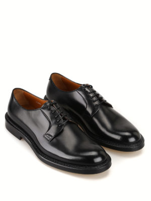 Doucal's: classic shoes online - Leather classic Derby shoes