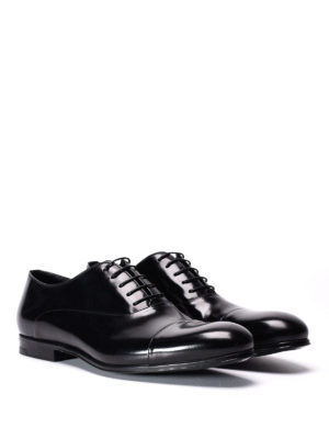 Doucal's: classic shoes online - Leather lace ups