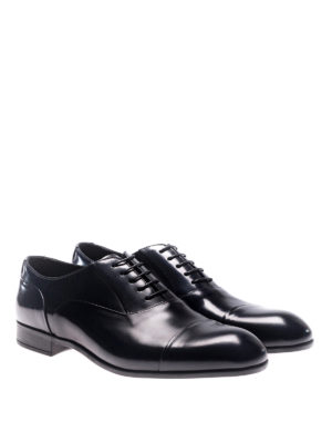 Doucal's: classic shoes online - Polished leather Oxford shoes