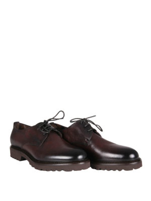 Doucal's: lace-ups shoes online - Leather derby shoes