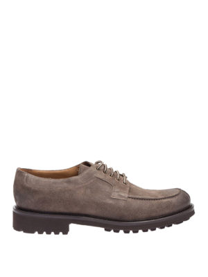 Doucal's: lace-ups shoes - Shaded suede lace-ups