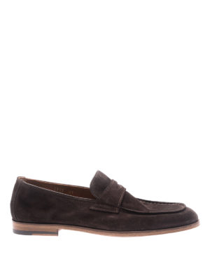 Doucal's: Loafers & Slippers - Brown suede loafers