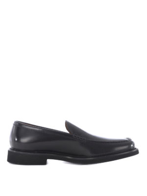 Doucal's: Loafers & Slippers - Handmade glossy leather loafers