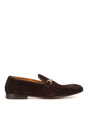 Doucal's: Loafers & Slippers - Light Point brown suede loafers