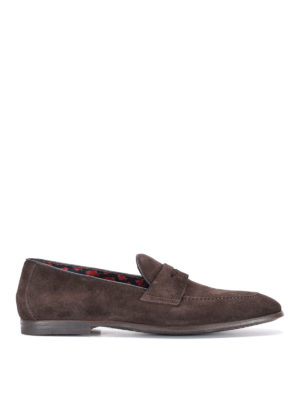 Doucal's: Loafers & Slippers - Mauro suede formal loafers