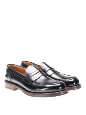Doucal's: Loafers & Slippers online - Leather classic loafers