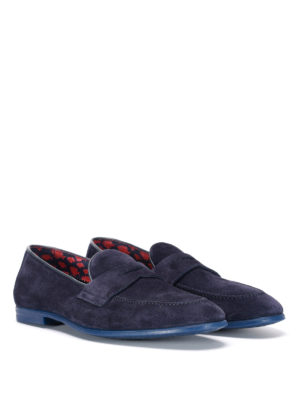 Doucal's: Loafers & Slippers online - Mauro suede formal loafers