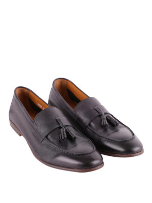 Doucal's: Loafers & Slippers online - Tasselled grained leather loafers