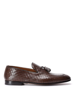 Doucal's: Loafers & Slippers - Woven leather loafers