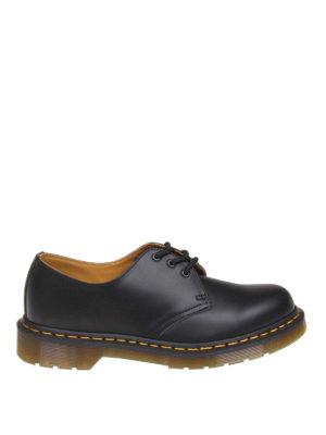 69b05bfd6bafde MARTENS: scarpe stringate - Derby 1461 in pelle