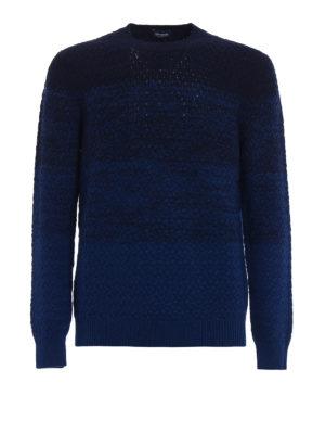 Drumohr: crew necks - Wool and cashmere shaded sweater