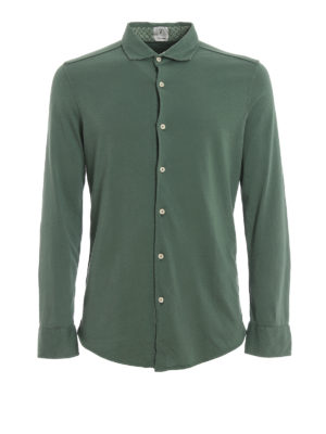 DRUMOHR: Camisas - Camisa - Verde