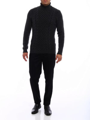 Drumohr: Turtlenecks & Polo necks online - Soft merino wool turtleneck
